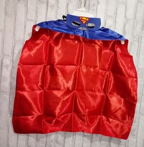 Superman kids dress up cape and mask